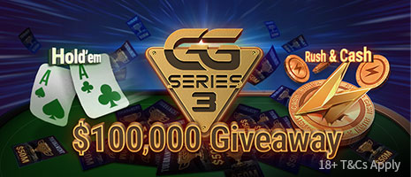 $100,000 GGSeries Giveaway